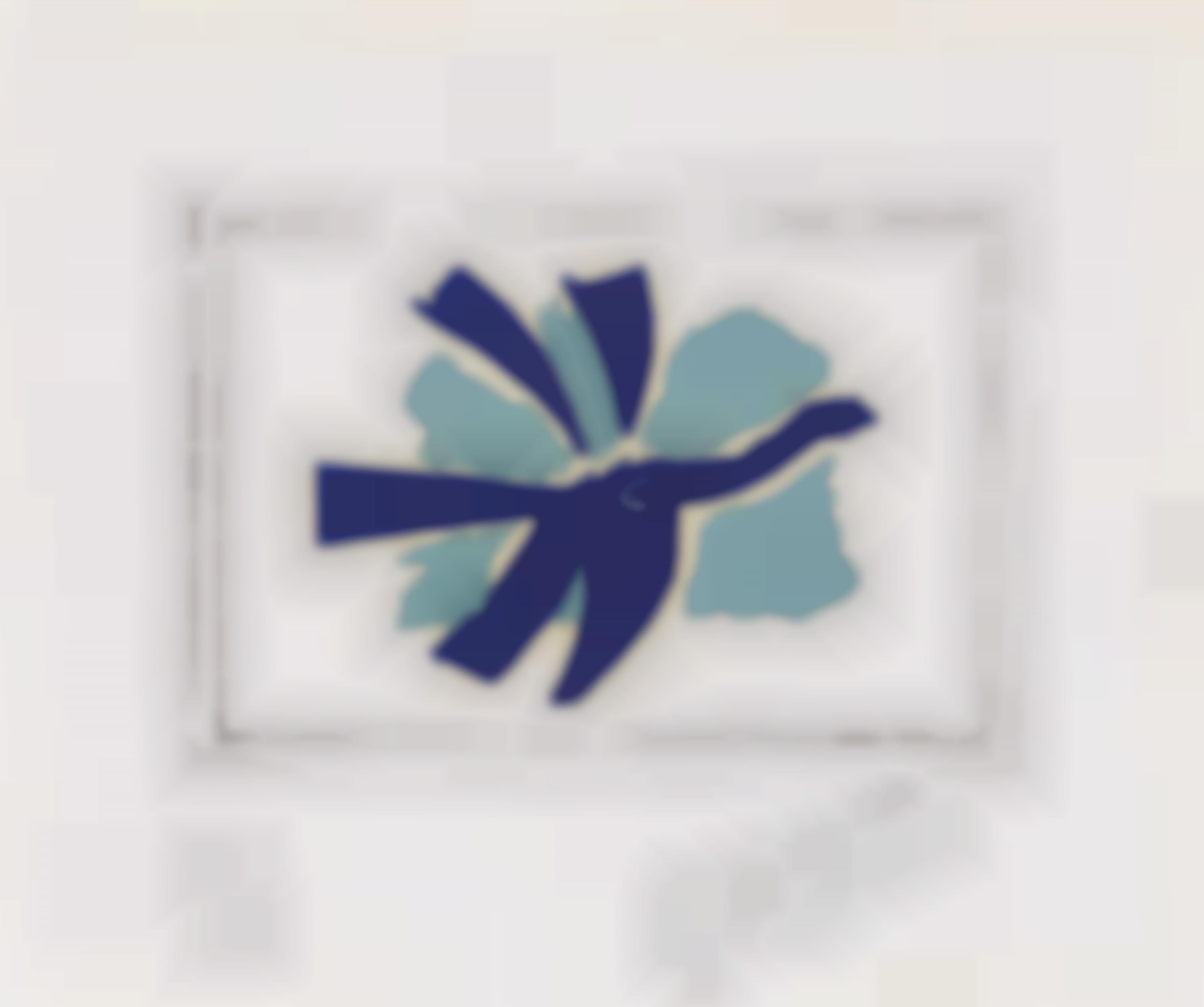 Georges Braque-Le Ciel Bleu (The Blue Sky)-1962