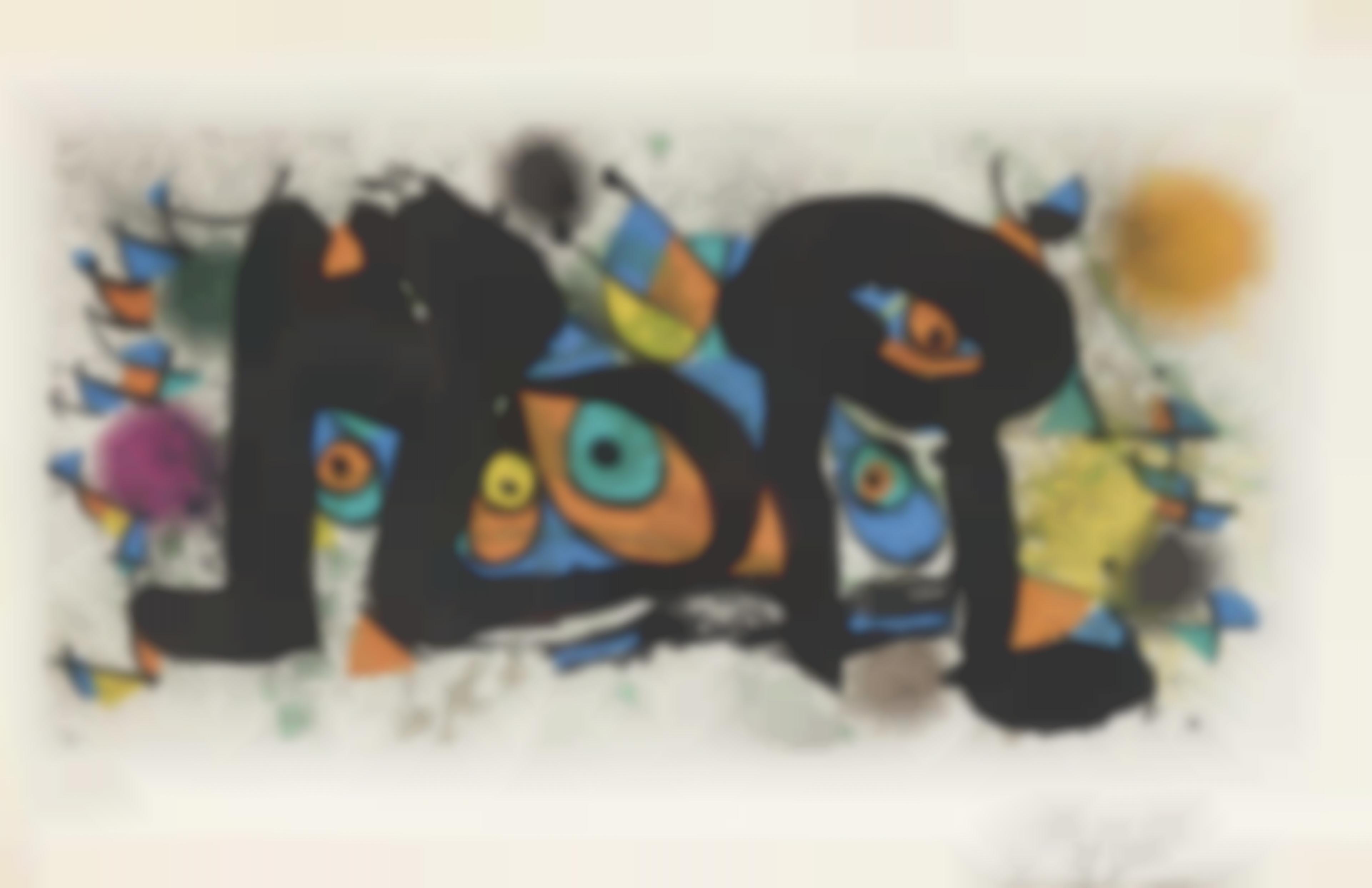 Joan Miro-Sculptures-1974