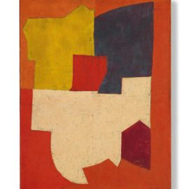 Serge Poliakoff-Composition Abstraite-1952