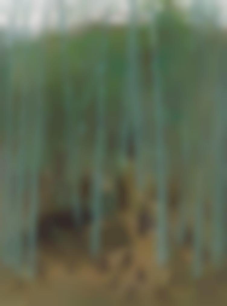 Wu Guanzhong-Spring Shoots Among Bamboos-1975