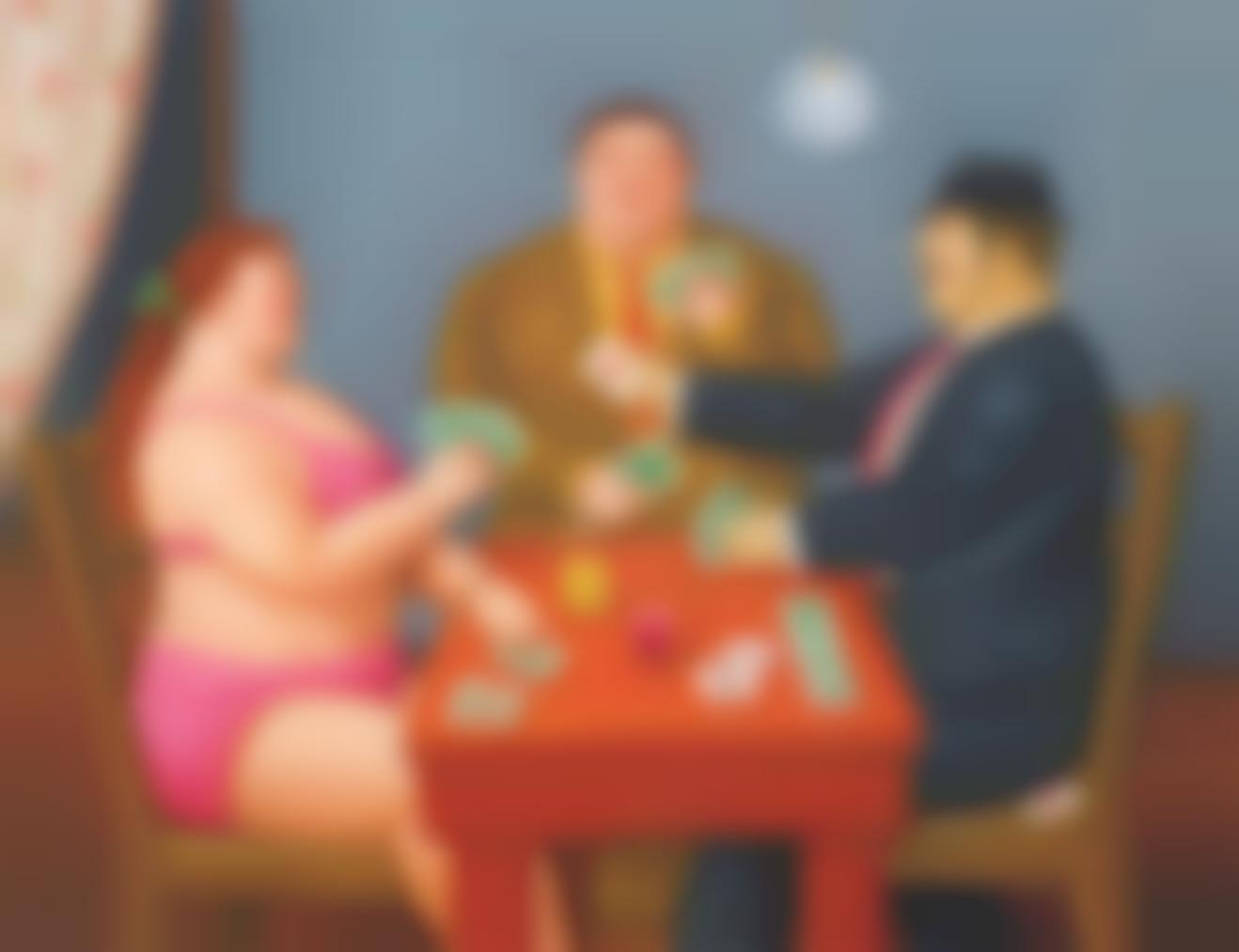 Fernando Botero-The Card Players-2011