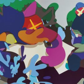 KAWS-Armed Away-2014
