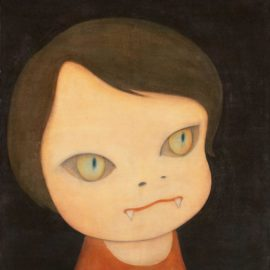 Yoshitomo Nara-Sleepless Night (Cat)-1999