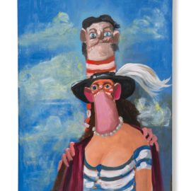 George Condo-The Hamptonites-2004