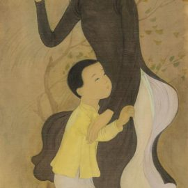 Mai Trung Thu-Mere Et Enfant (Mother And Child)-1952