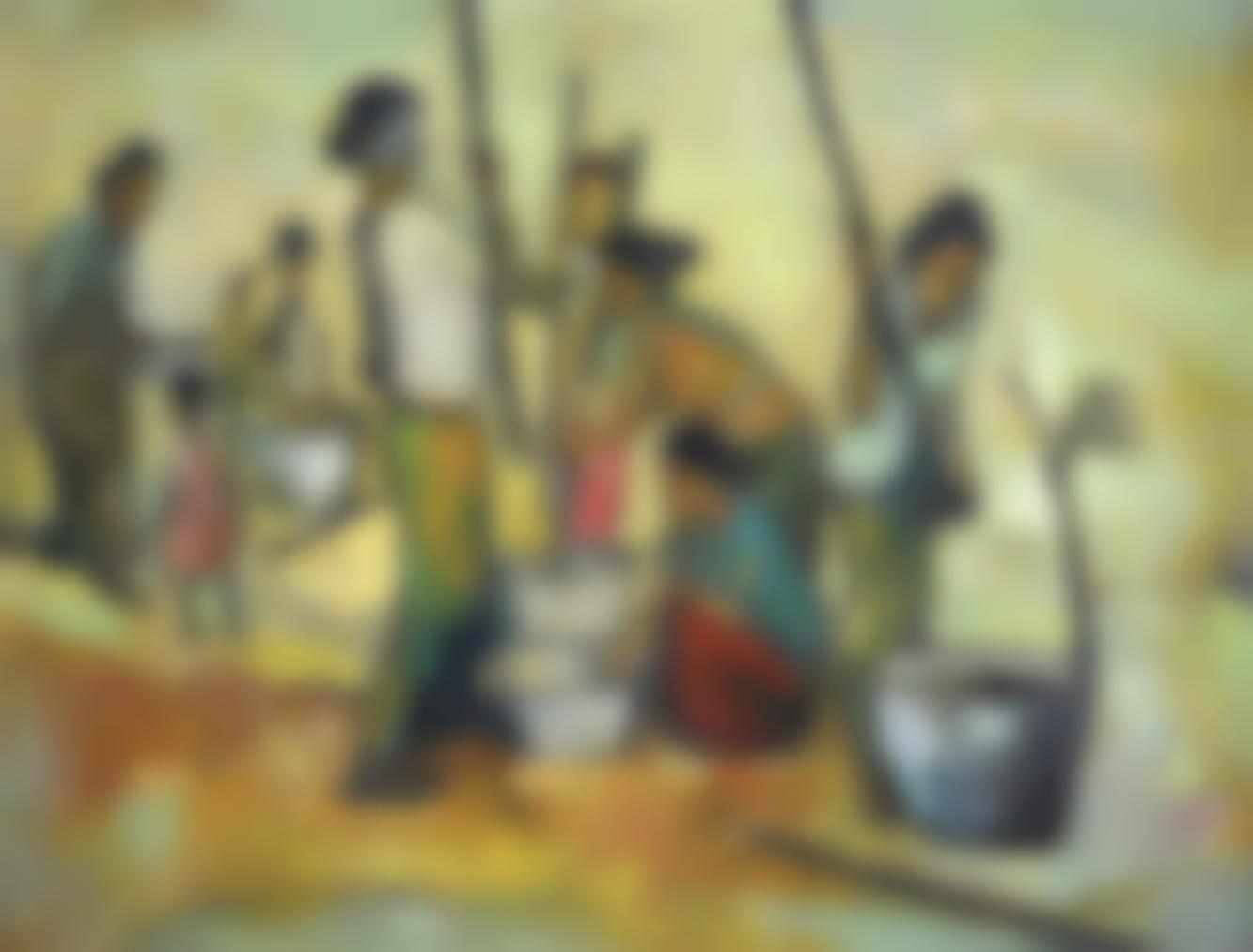 Ho Khay Beng - Threshing-