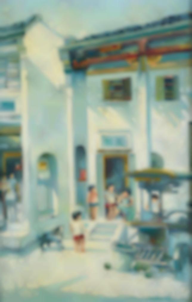 Tan Choon Ghee - Street Scene-1979