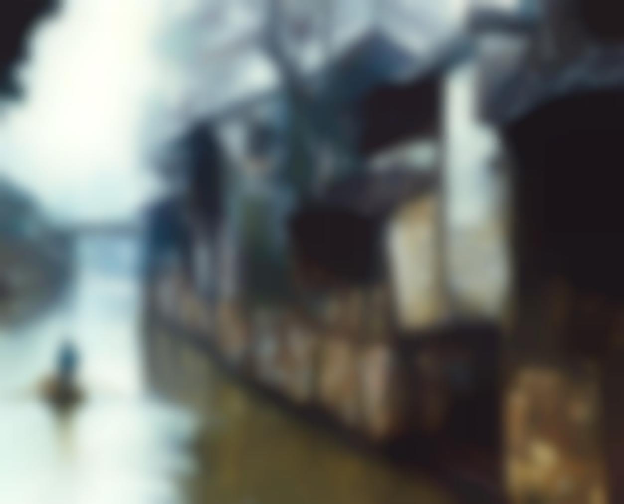 Chen Yifei-Days End (Suzhou)-1986