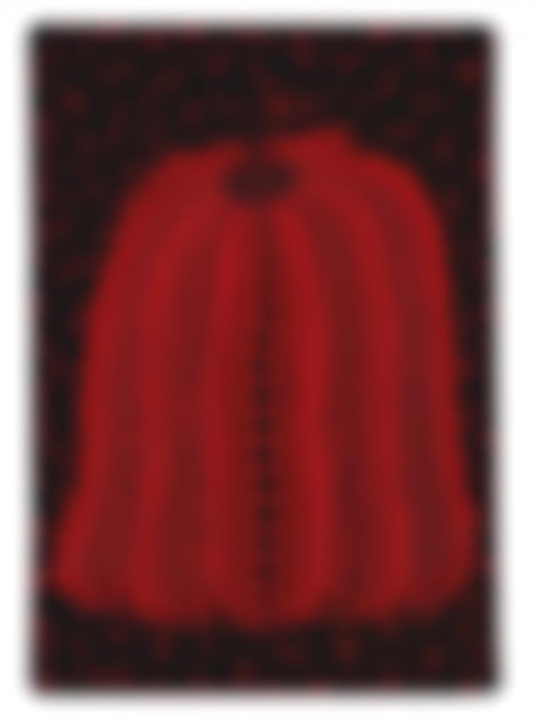 Yayoi Kusama-Pumpkin (Ooss)-2006