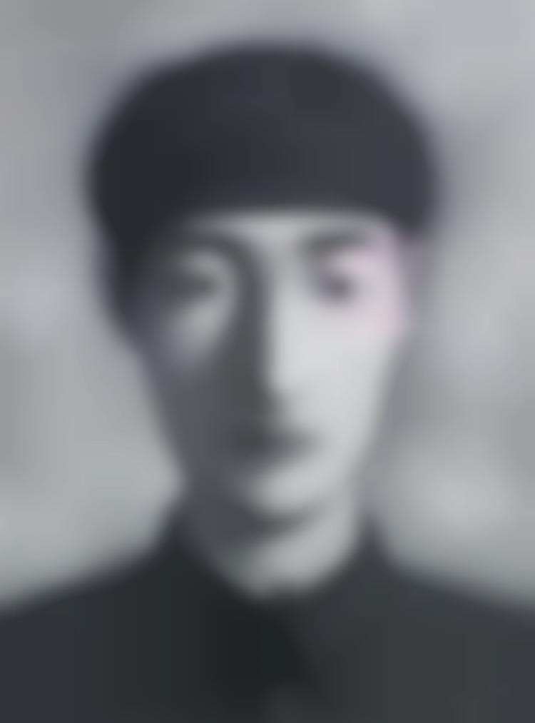 Zhang Xiaogang-Bloodline Series-1996