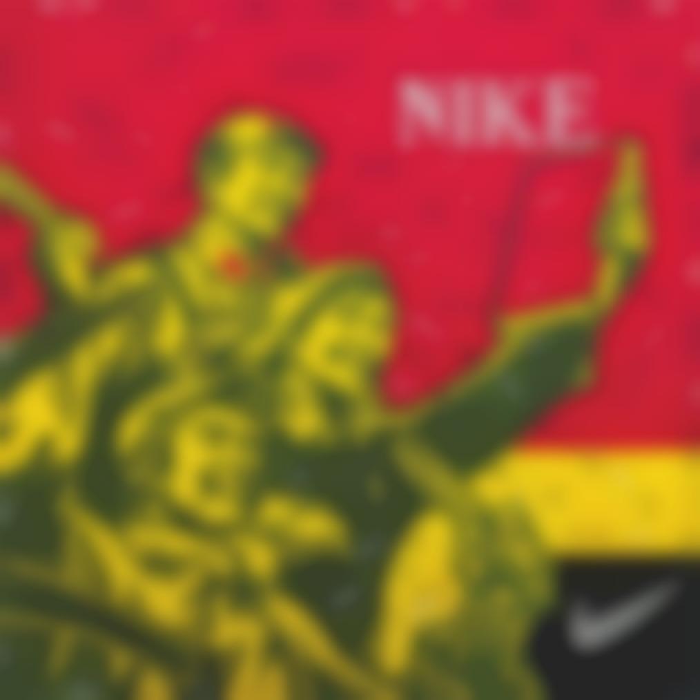 Wang Guangyi-Great Criticism Series: Nike-2005