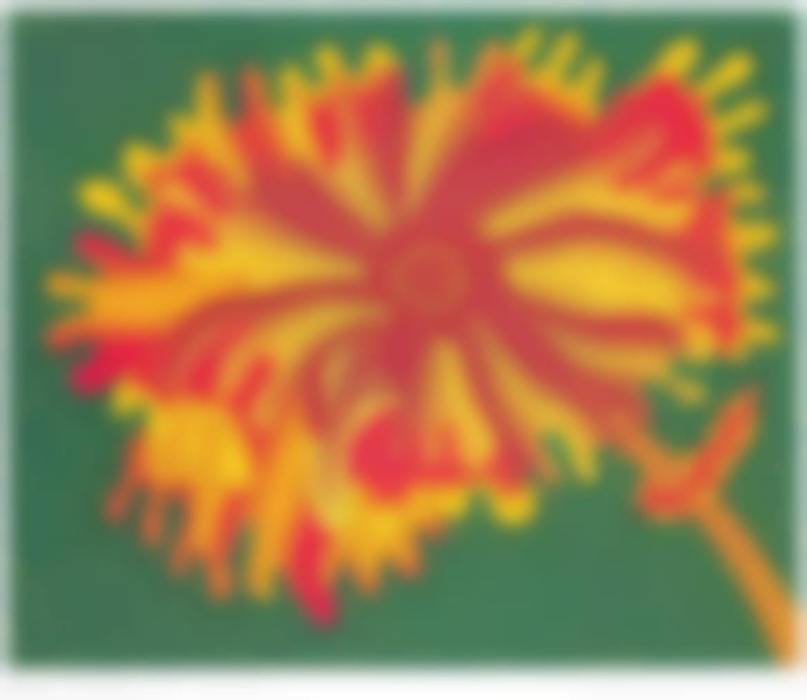 Yayoi Kusama-Flowers A-2005