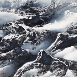 Liu Kuo-Sung-Tibetan Suite Series - Melancholy Of The Himalayas-2000