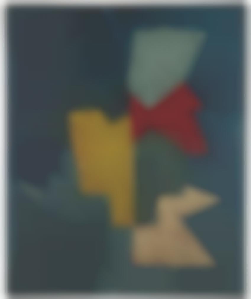 Serge Poliakoff-Composition Abstraite-1954