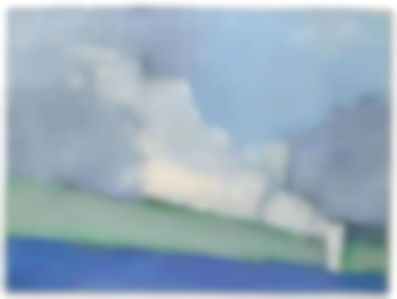 Nicolas de Stael-Paysage De Vaucluse No. 3-1953