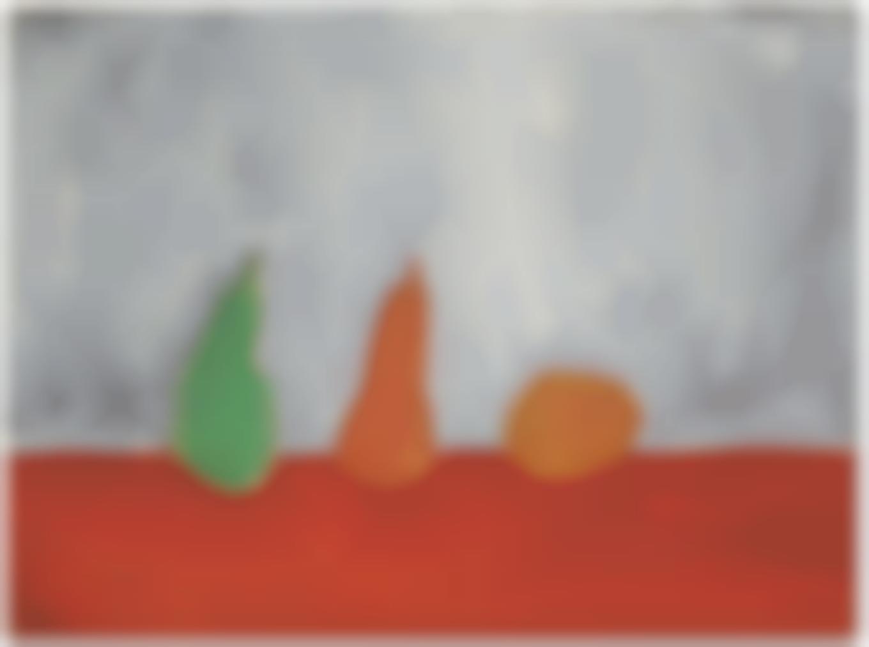 Nicolas de Stael-Fruits (Nature Morte, Poires, Fond Gris)-1954