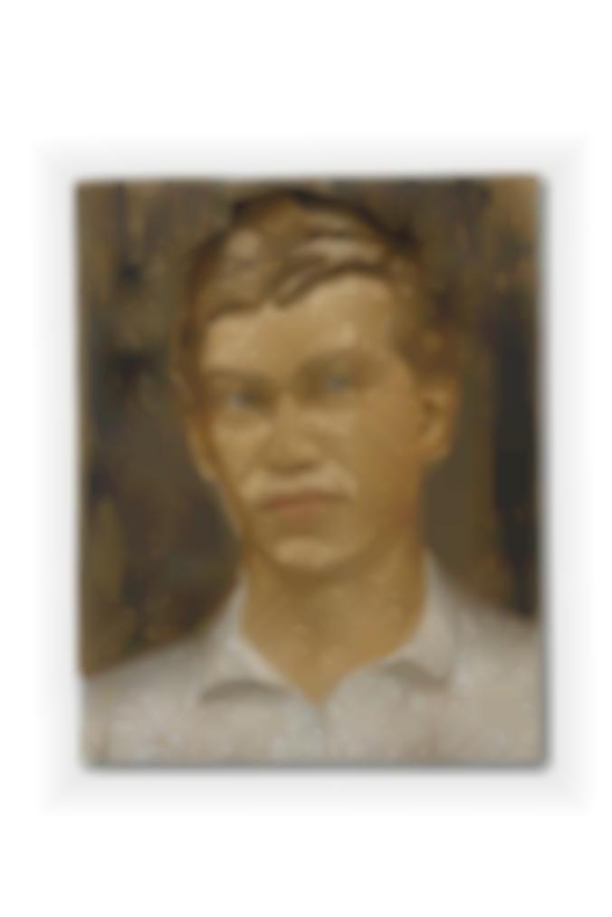 Stephan Balkenhol-Grosses Selbstportrat-1990