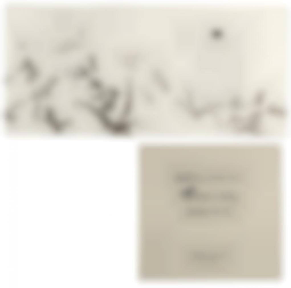 Zao Wou-Ki Et Catherine Zittoun - Empreintes -Edition Originale Illustree De Six Serigraphies Et Deux Encres Originales Sur Papier De Zao Wou-Ki-2003