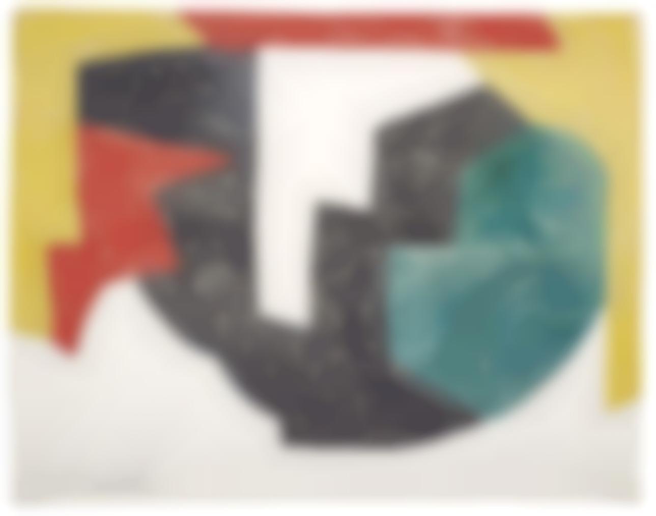 Serge Poliakoff-Composition Abstraite-1969