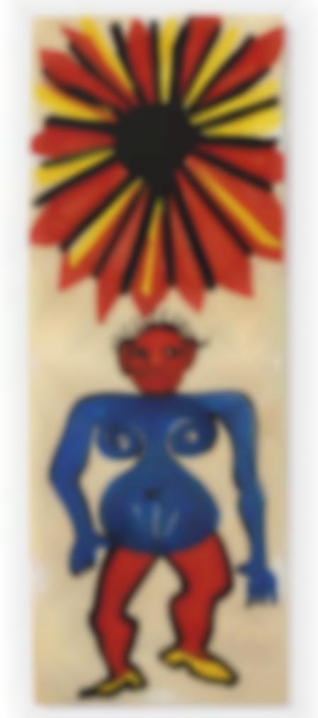 Alexander Calder-Sans Titre (Soleil De Feu)-1974