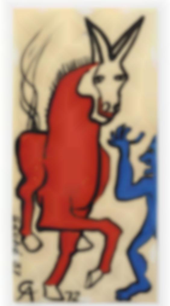 Alexander Calder-Sans Titre (Ane Et Diablotin)-1972