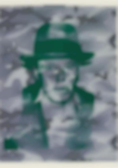 Andy Warhol-Joseph Beuys In Memoriam, From For Joseph Beuys-1986