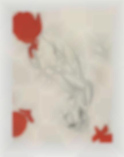 Georg Baselitz-Melancholie, Drei Rosen (Melancholy, Three Roses)-1999