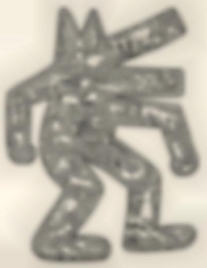Keith Haring-Dog-1987