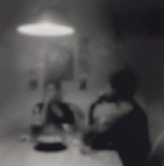 Carrie Mae Weems-Untitled (Man Smoking) From Kitchen Table Series-1990