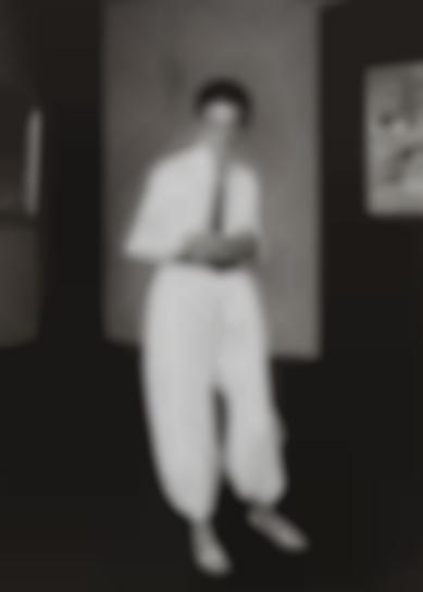 August Sander-Frau Eines Malers (Painters Wife, Helene Abelen)-1926