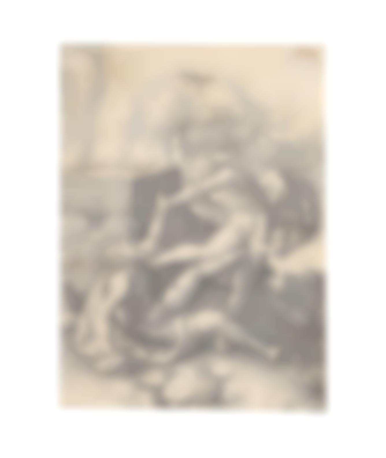 Lucas Van Leyden-Cain Killing Abel (Hollstein 5)-1529