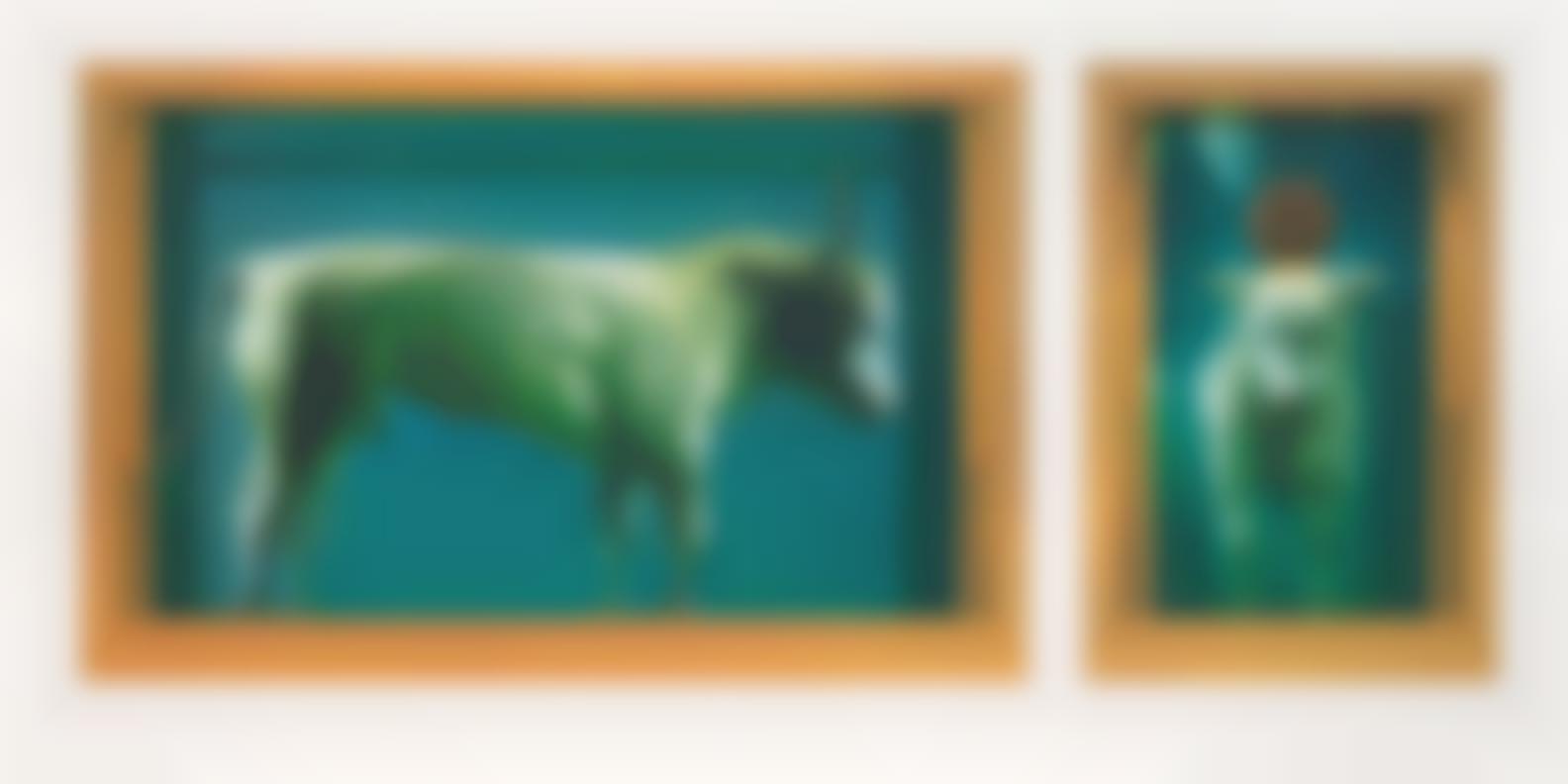 Damien Hirst-The Golden Calf-2009