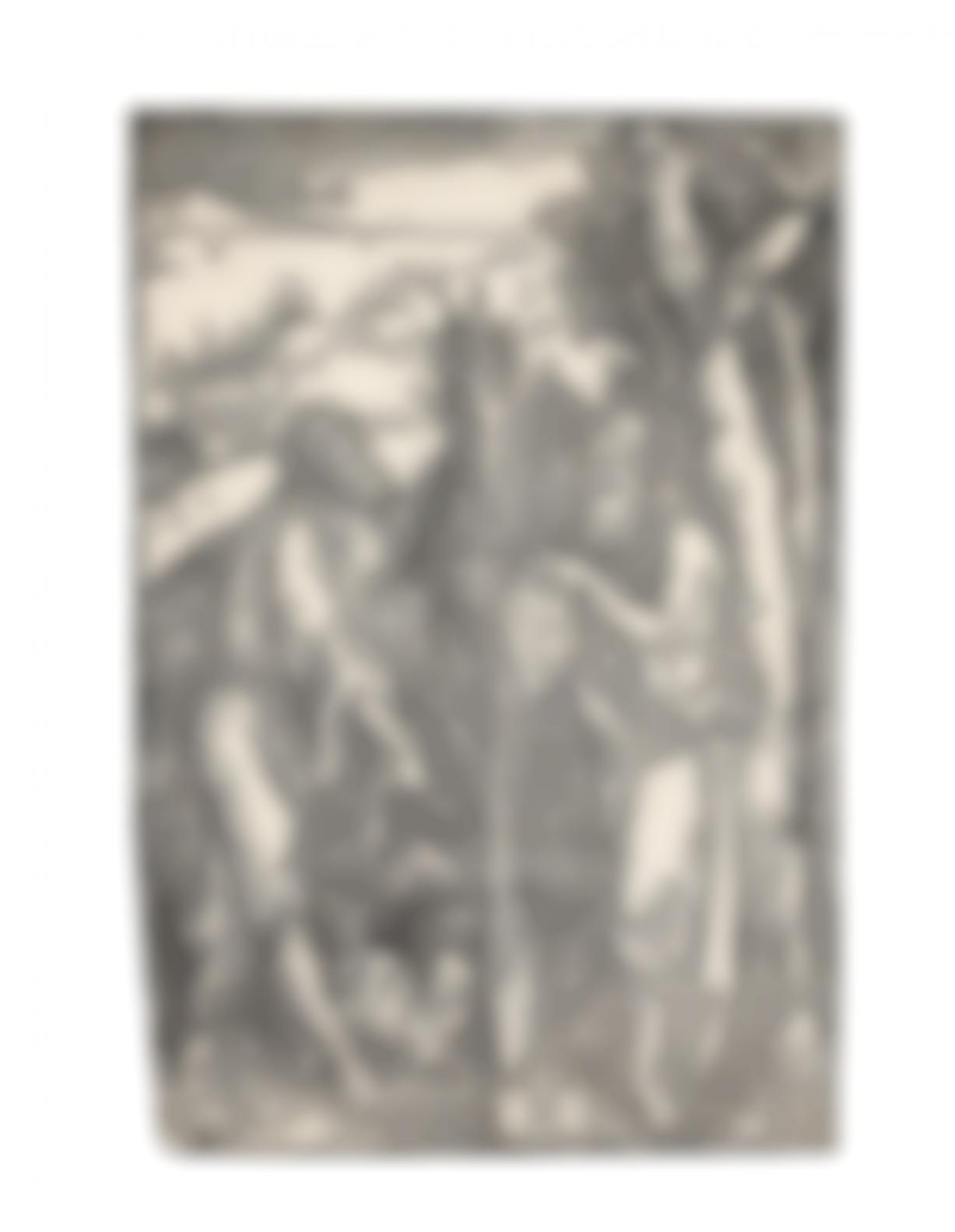 Albrecht Durer-St John The Baptist And St Onuphrius In The Wilderness (Bartsch 112;Meder, Hollstein 230; Schoch, Mende And Scherbaum 135)-1503