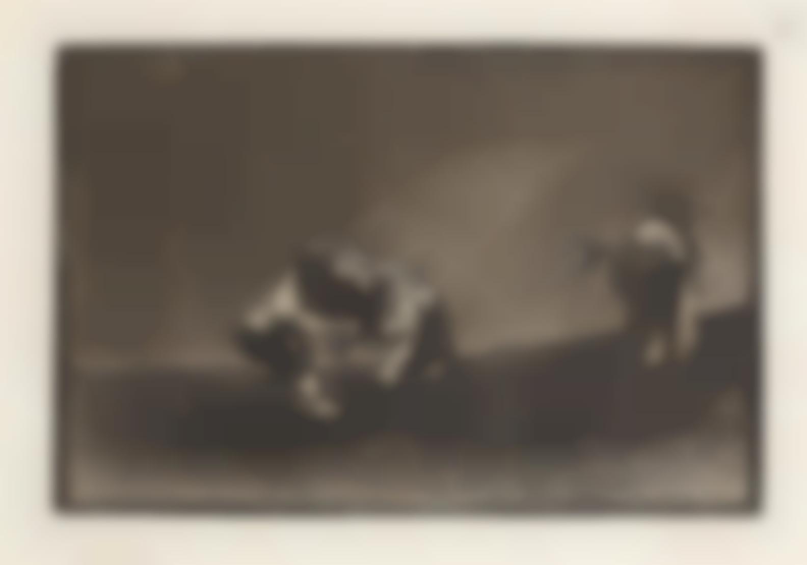 Francisco de Goya-El Mismo Vuelca Un Toro En La Plaza De Madrid, From Tauromaquia (Harris 219)-1816