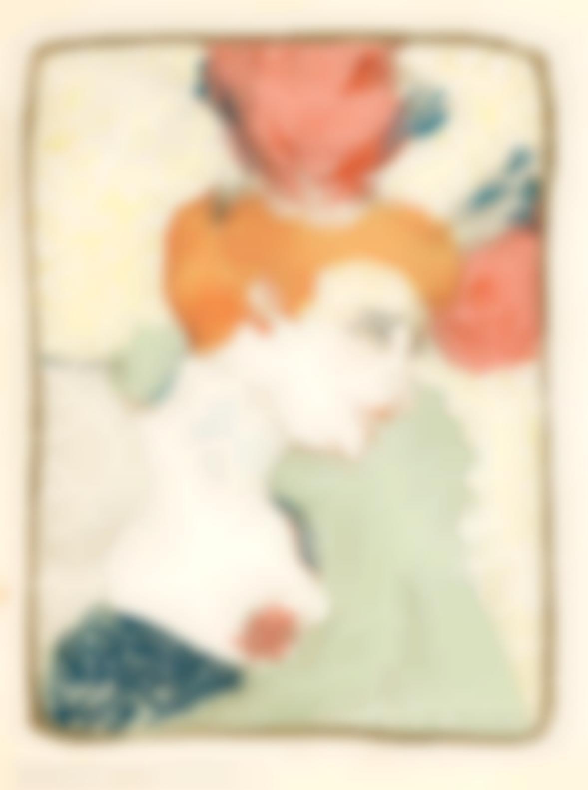 Henri de Toulouse-Lautrec-Mademoiselle Marcelle Lender, En Buste (Delteil 102; Adriani 115; Adhemar 131; Wittrock 99)-1895