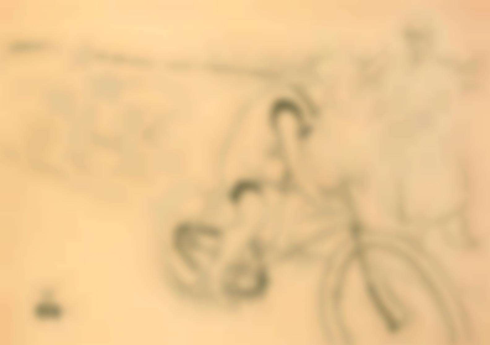Henri de Toulouse-Lautrec-Cycle Michael(Delteil359; Adriani 188; Adhemar 184; Wittrock P25)-1896