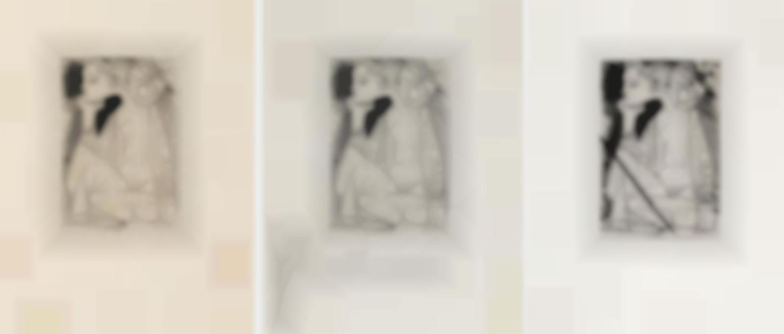 Pablo Picasso-Femme Assise En Tailleur: Genevieve Laporte, For Recordant El Doctor Reventos, 1969 (Bloch1837; Baer 888; Cramer Books 147)-1951