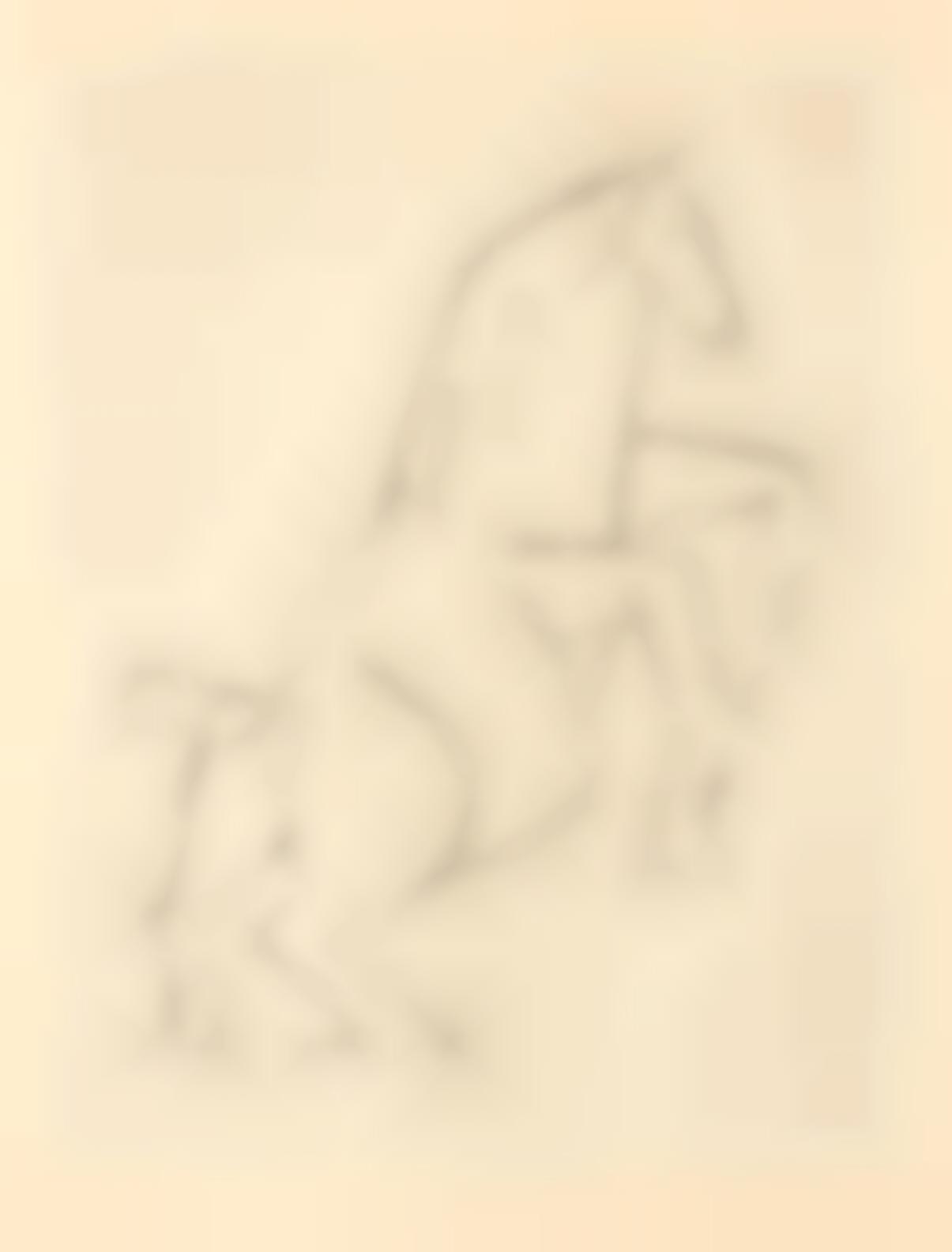 Pablo Picasso-Roch Grey Chevaux De Minuit, Le Degre Quarante Et Un (Iliazd), Paris And Cannes, 1955 (Bloch 811-820; Baer 936-945; Cramer Books 73)-1955