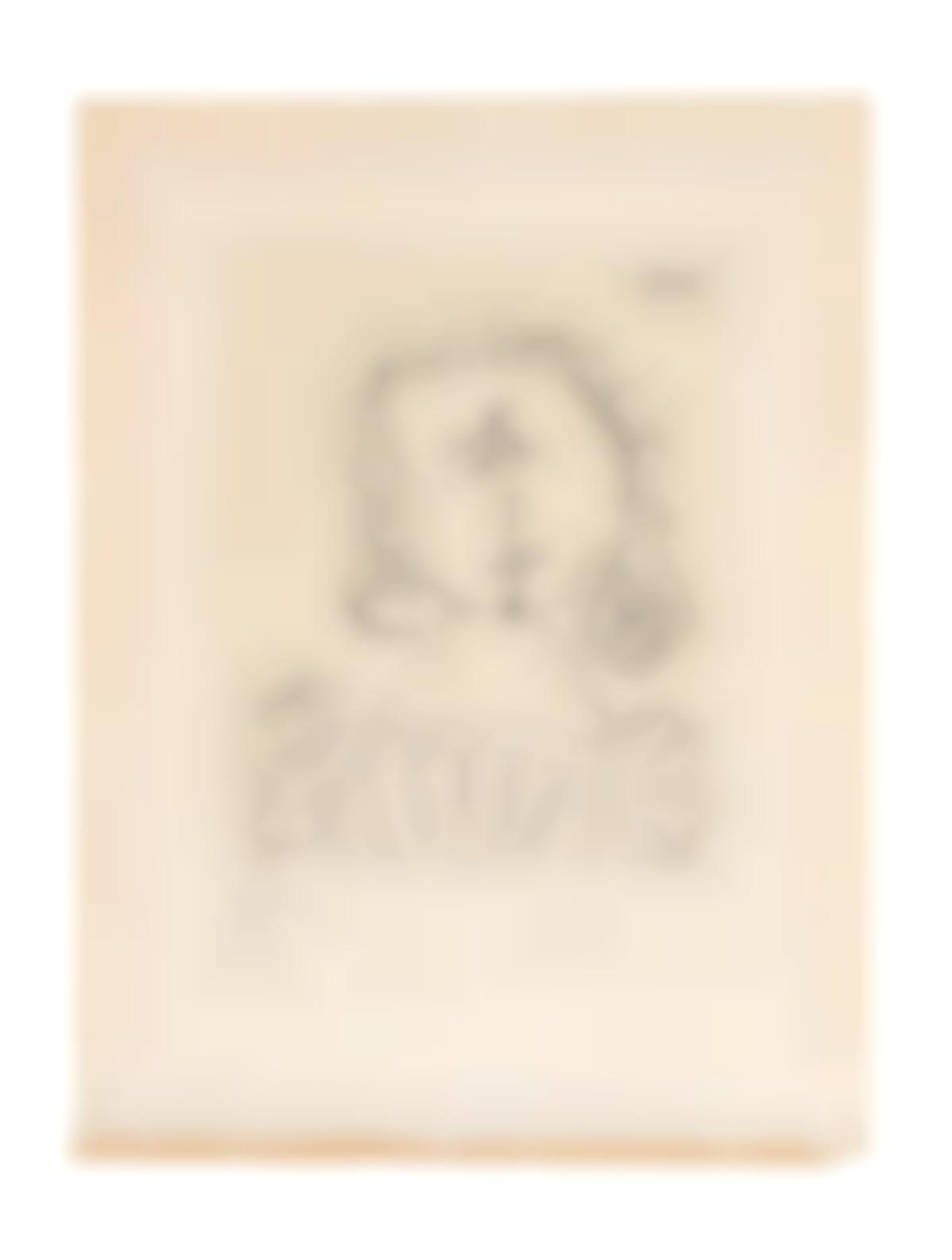 Pablo Picasso-Mousquetaire, From Doble Ensayo Sobre Picasso (Bloch1854; Baer 1479; Cramer Books 142)-1967