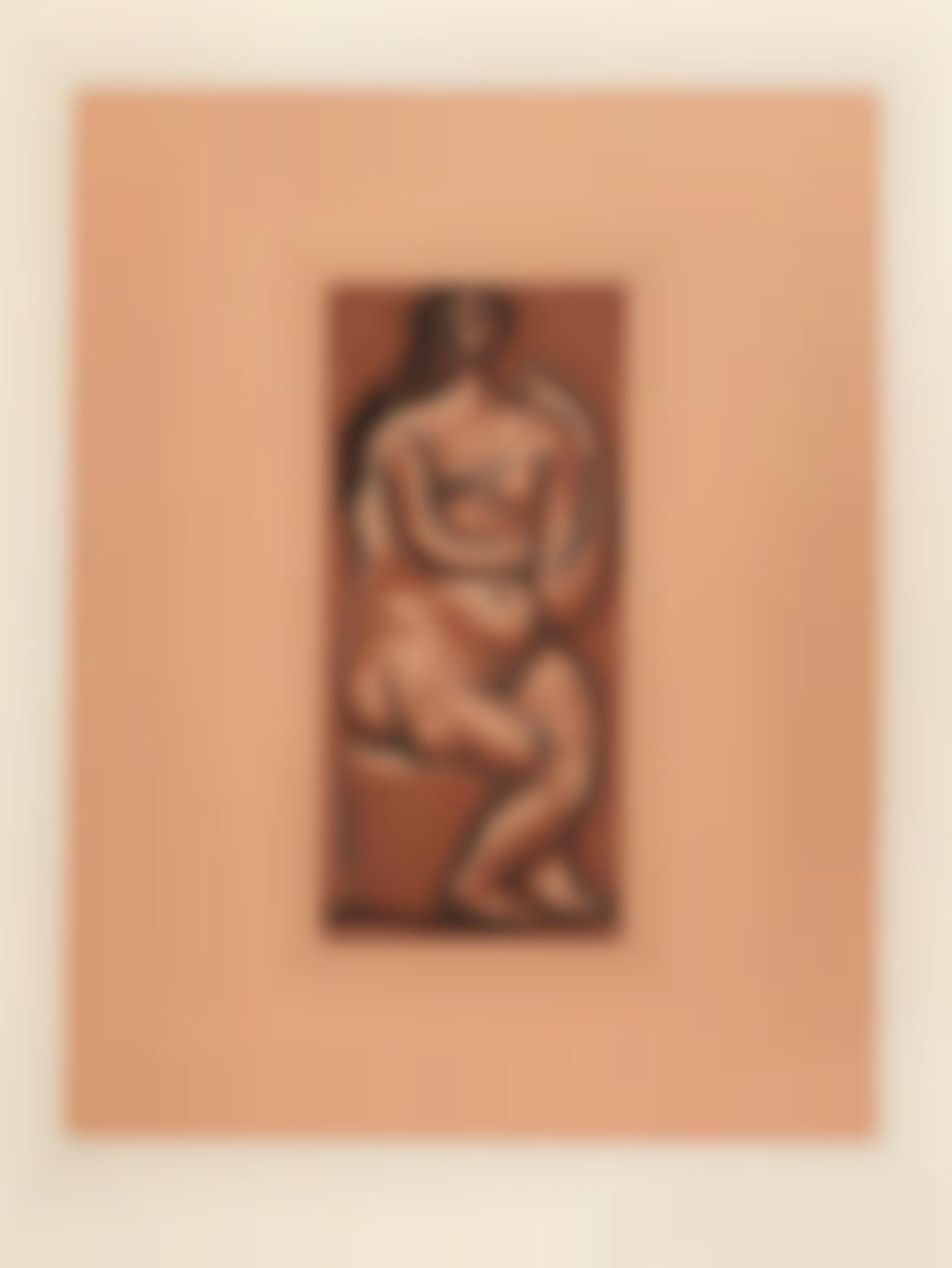 Pablo Picasso-Nu Assis (Bloch1086; Baer 1330)-1962
