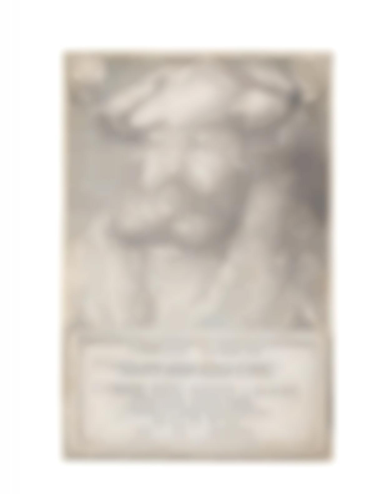 Albrecht Durer-Frederick The Wise, Elector Of Saxony (Bartsch 104; Meder, Hollstein 102; Schoch, Mende And Scherbaum 98)-1524