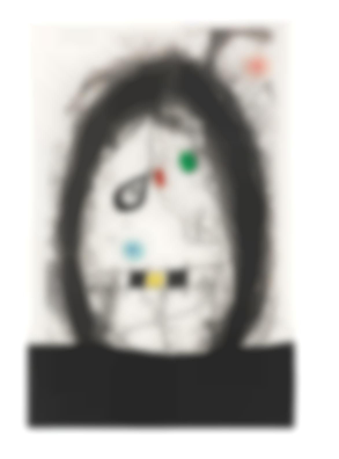 Joan Miro-Lexile Noir (Dupin 497)-1969