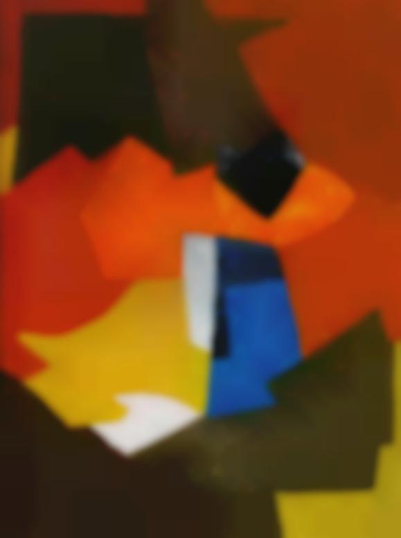 Serge Poliakoff-Composition Abstraite-1953