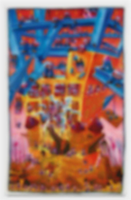 Herve Di Rosa-Naissance Dune Civilisation II (La Construction)-1984