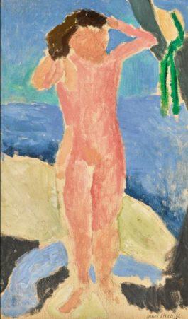 Henri Matisse-Nu Au Bord De La Mer-1909
