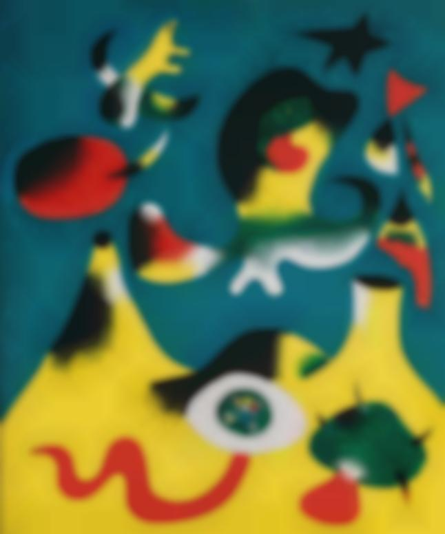 Joan Miro-Peinture (Lair)-1938