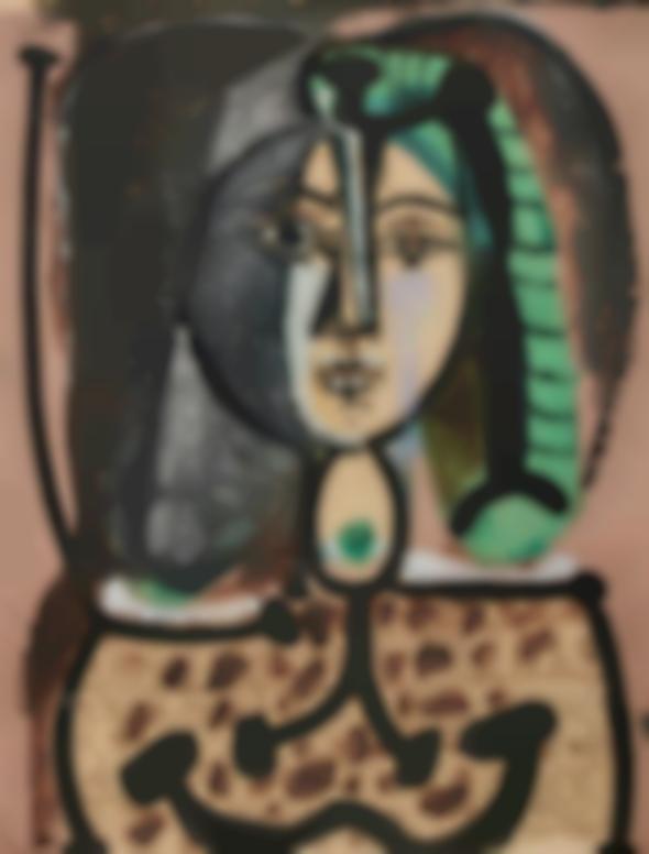 Pablo Picasso-Femme Au Tablier-1949