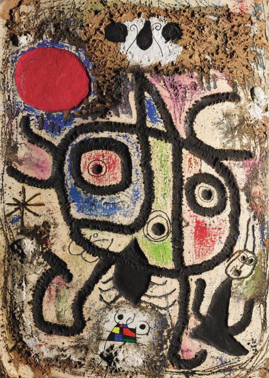 Joan Miro-Peinture-1953