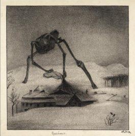 Alfred Kubin-Epidemie (Epidemic)-1901