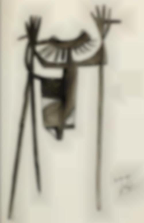 Julio Gonzalez-Personnage Inquietant-1941